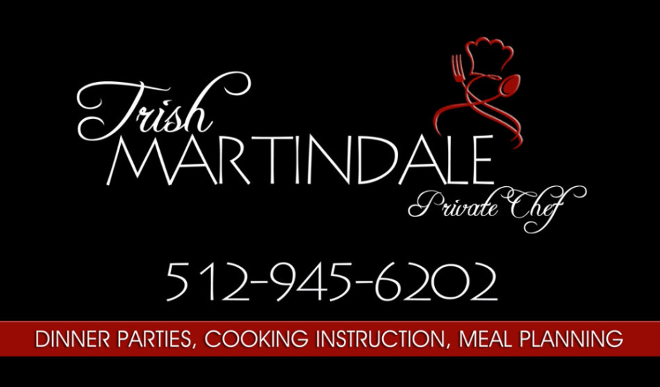 Trish Martindale, Private Chef
